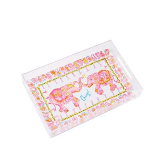 b45d54ae916443 Lilly Pulitzer Other - Lilly Pulitzer Get Trunked Serving Tray